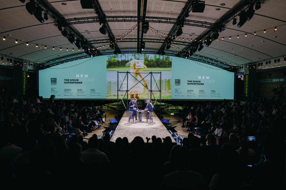 fairly scene plénière scénographie sustainable brands paris 2019