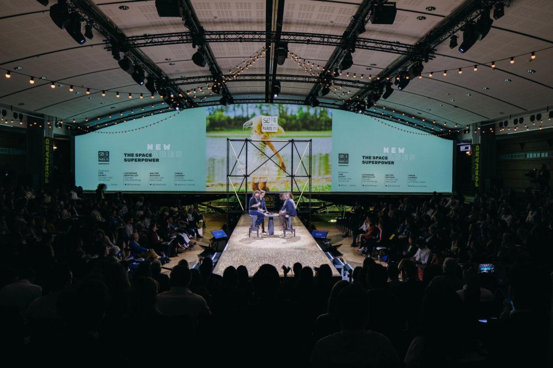fairly scene plénière scénographie sustainable brands paris 2019