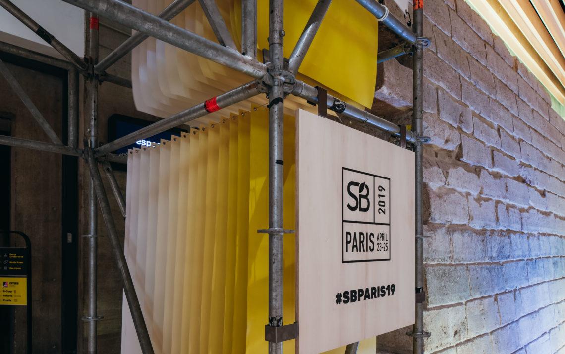 fairly arche échafaudage design responsable sustainable brands paris 2019