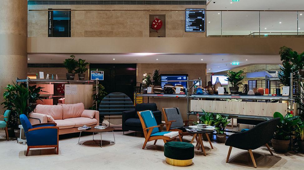 fairly salon mobilier design living room carrousel louvre canapé