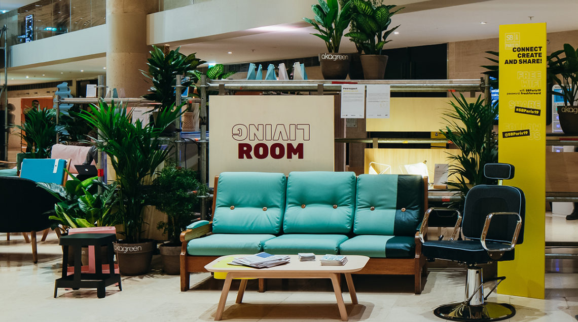 fairly salon mobilier design living room carrousel louvre canapé et fauteuil barbier