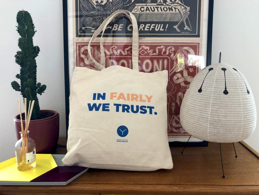 fairly comparatif coton tote bag